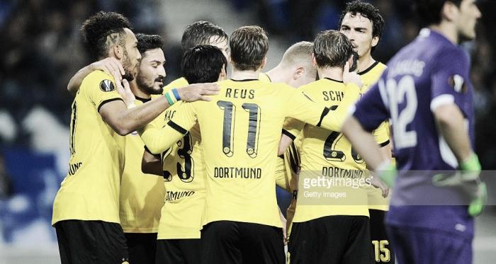 A equipa alemã não deu qualquer chance ao FC Porto.