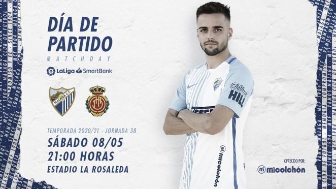 Previa Málaga CF - RCD Mallorca: punto de inflexión