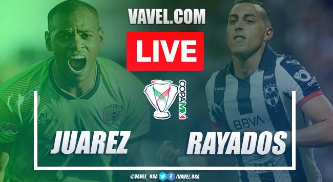 Highlights and goals: FC Juárez 2 - 0 CF Monterrey on Copa MX 2020