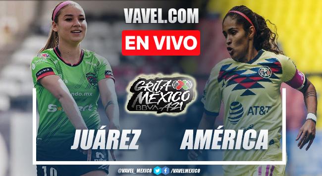 Goles y resumen del Juárez femenil 1-1 América femenil en Liga MX Femenil