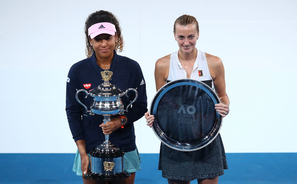 Naomi Osaka and Petra Kvitova contested the final last year, with the Japanese prevailing in a thrilling three-set encounter (Photo: Julian Finney)