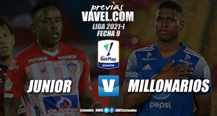 Previa Junior vs Millonarios: duelo por treparse en la zona alta de la tabla