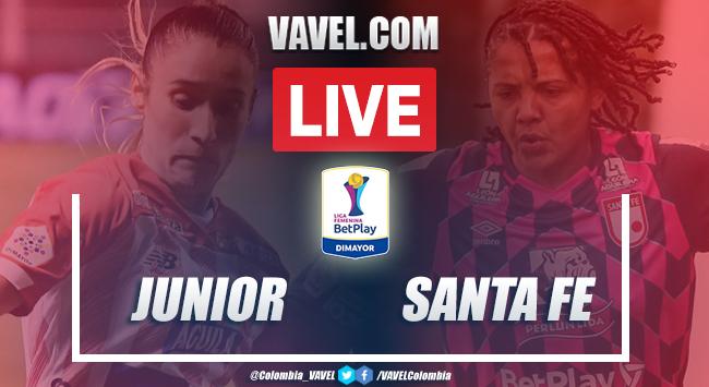 Junior vs Santa Fe EN VIVO: cómo y dónde ver transmisión en directo online por Liga Femenina