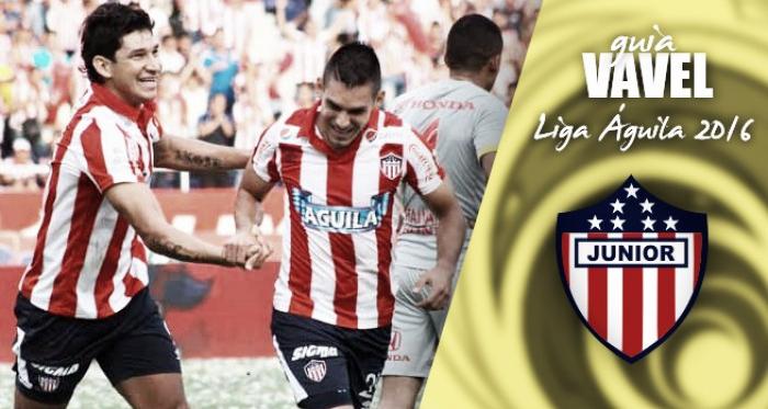 Guía VAVEL Liga Águila 2016-I: Junior