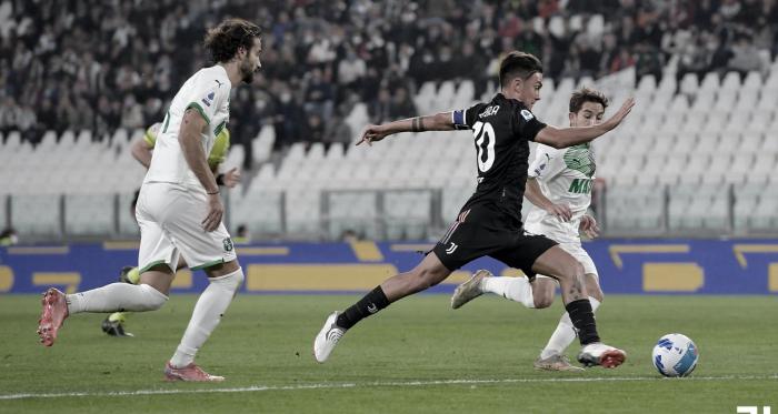 Sassuolo surpreende e bate Juventus nos acréscimos
