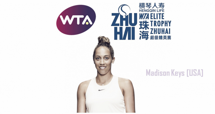 Madison Keys has successfully qualified for the WTA Elite Trophy