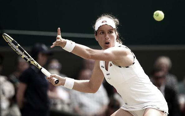 Konta mantiene vivas las esperanzas locales en Wimbledon