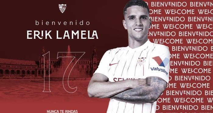 Lamela, nuevo jugador del Sevilla FC