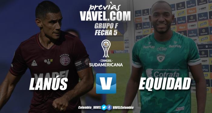 Previa Lanús vs La Equidad: duelo para tratar de seguir con vida en la Sudamericana