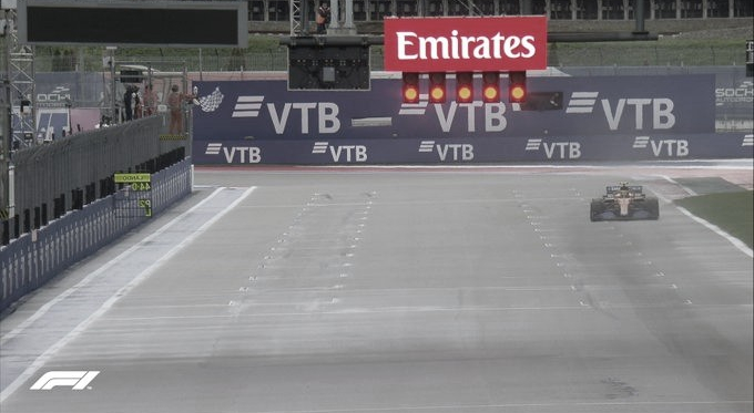 Pole de Norris con Sainz segundo en una loca qualy en Sochi