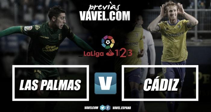 Previa del duelo del domingo 14 entre Las Palmas y el Cádiz / VAVEL