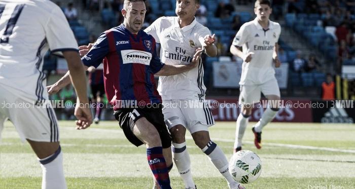 La mejor versión del Real Madrid Castilla doblega al líder (3-1)