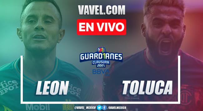 Resumen y goles: León 2-1 Toluca en Jornada 13 de la Liga MX Guard1anes 2021