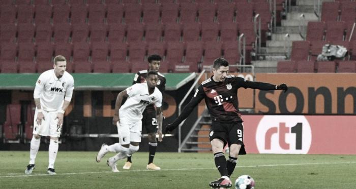 Bayern de Munique vence Augsburg fora da casa e garante liderança da Bundesliga