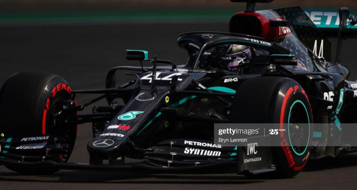 70th Anniversary GP FP3 - Mercedes take third successive 1-2 in practice