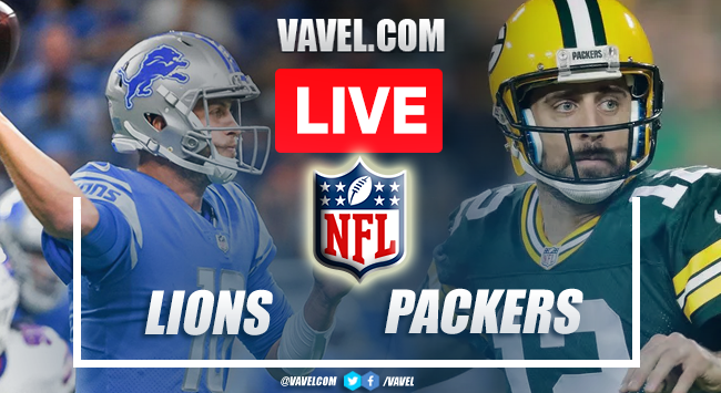 Highlights and Touchdown of Lions 17-35 Packers on NFL Week 2