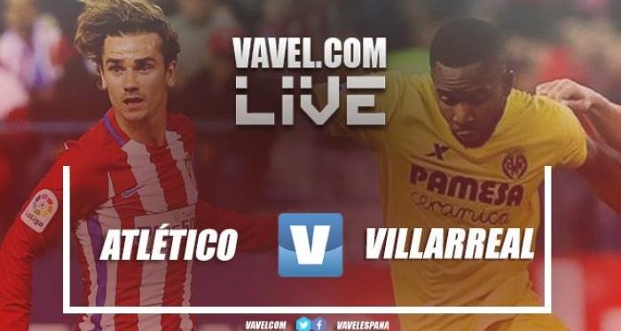 Resumen Atlético de Madrid 1-1 Villarreal en La Liga 2017