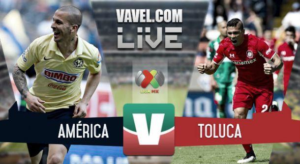 Resultado América - Toluca en Liga MX 2015 (3-1)