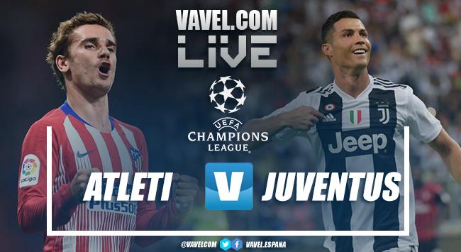 Atlético de Madrid vs Juventus EN VIVO online en Champions League (0-0)