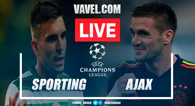 Gols e melhores momentos Sporting x Ajax pela Champions League (1-5)