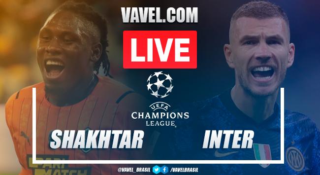 Shakhtar Donetsk x Internazionale AO VIVO: onde assistir jogo em tempo real pela Champions League