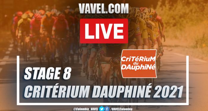 Highlights: Critérium du Dauphiné 2021, stage 8