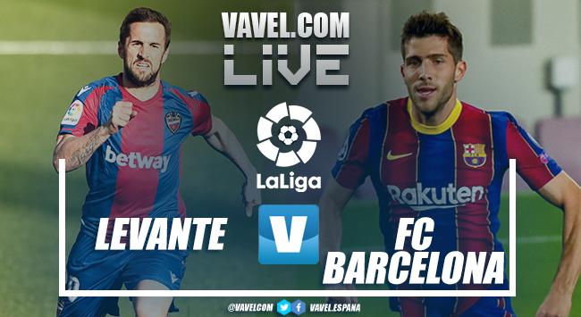 Resumen Levante UD 3-3 FC Barcelona La Liga 2021