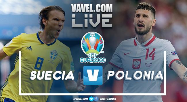 Polonia vs Suecia en vivo y en directo online en Eurocopa 2020