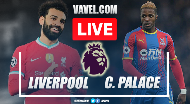 Liverpool vs Crystal Palace: Live Stream, How to Watch on TV and Score Updates in Premier League