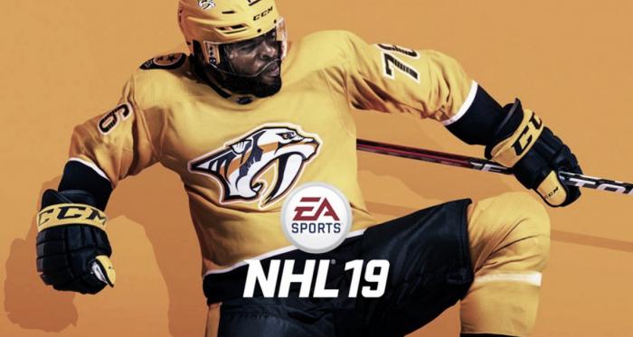 Portada del videojuego   Fuente: NHL