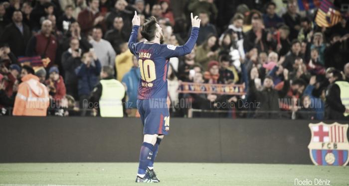 Messi, los tiros de falta directa y una magia de 10 años