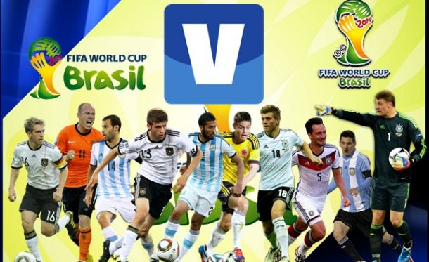 O onze ideal do Mundial 2014