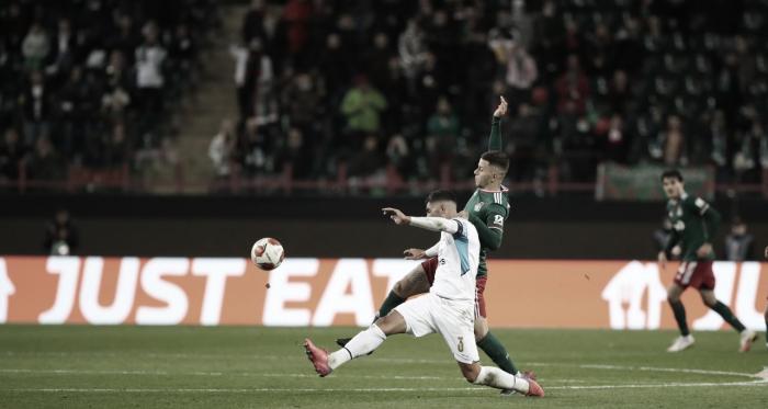 Lokomotiv e Olympique empatam na estreia pela Liga Europa