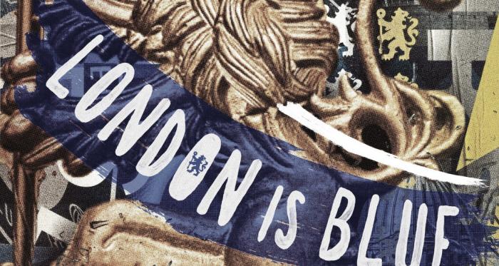 Londres se tiñó de azul
