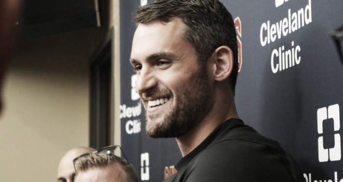 NBA - Love is all you need: i Cleveland Cavaliers blindano il beach boy - Twitter
