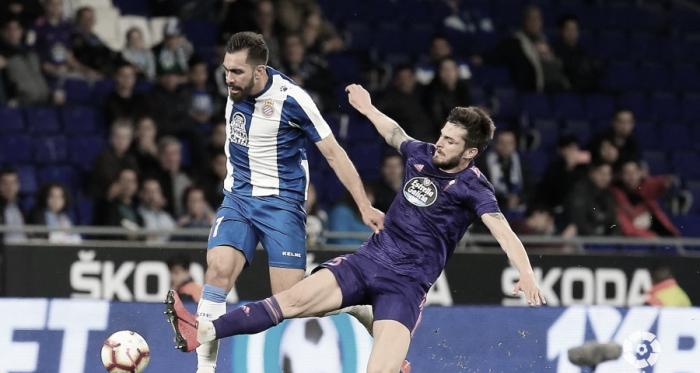 Borja Iglesias no estuvo acertado de cara a portería / Foto: Liga Santander