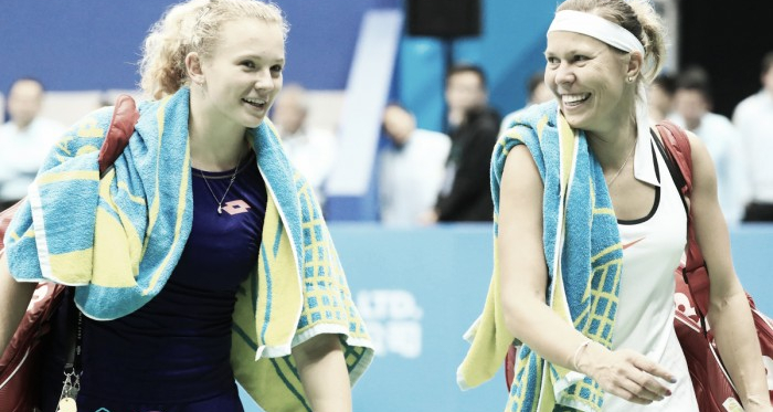 Lucie Hradecka and Katerina Siniakova has been one of the few solid pairings throughout 2017 | Photo: WTA Taiwan Open