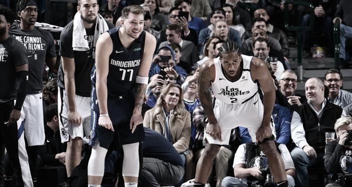 Previa Los Angeles Clippers - Dallas Mavericks: presente y futuro se ven las caras