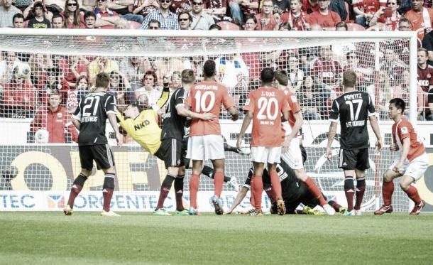 Com gols no primeiro tempo, Mainz vence Nuremberg na Coface Arena