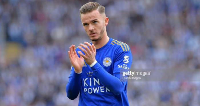 James Maddison has been in inspired form for Leicester since his arrival | Photo: Getty/ Plumb Images