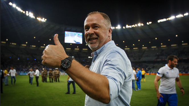 Mano Menezes deverá fazer mudanças na Raposa para o jogo. (Foto: Divulgação/ Cruzeiro)