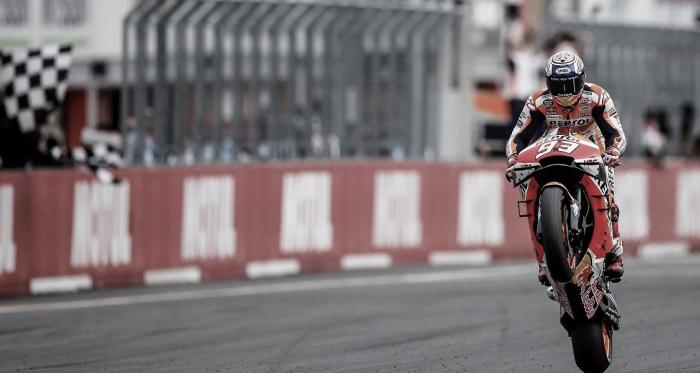 Marc Márquez en el GP de Japón. Fuente: Box Repsol