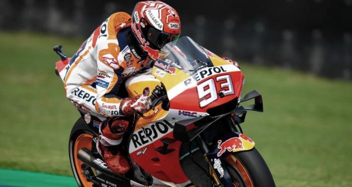 Marc Marquez en el GP de Tailandia | Fuente: Moto GP