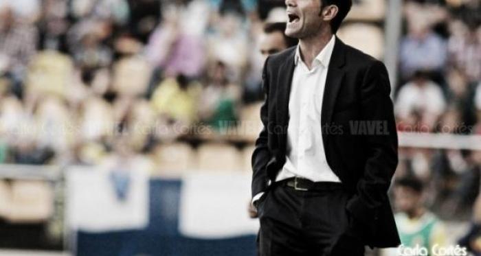 Marcelino durante un partido | Fotografía: Carla Cortés
