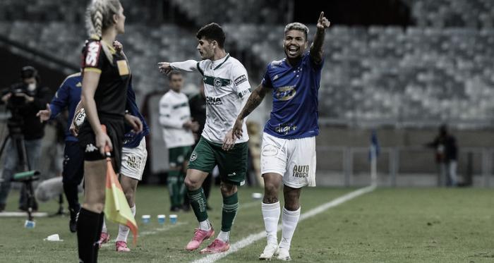 Marcinho marca, e Cruzeiro busca empate no fim diante do Goiás