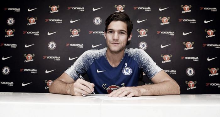 Marcos Alonso será Blue hasta 2023 | Foto: Chelsea.