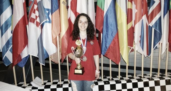 Marta García bronce en el europeo sub 18