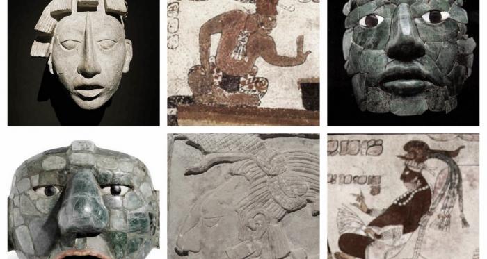 Representaciones de hombres mayas | Pinterest