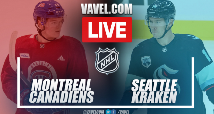 Montreal Canadiens vs Seattle Kraken: Live Stream, Score Updates and How To Watch NHL Match