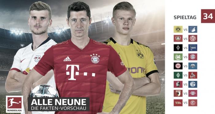 Gols e melhores momentos da última rodada da Bundesliga